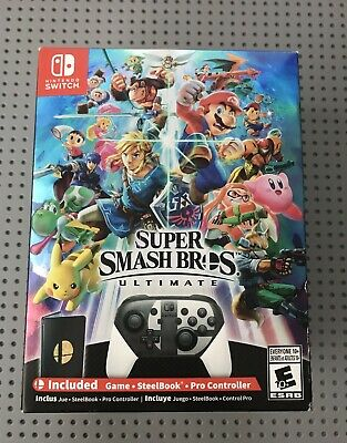 Super Smash Bros Ultimate SPECIAL EDITION - Nintendo Switch