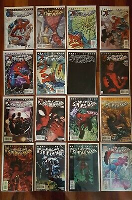 The Amazing Spider-Man #30-#58 and #500-#528, Civil War #529-#538,more 82 issues