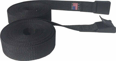 2 feet Long Lashing Strap (2 straps) Cargo Lash Strap, Camping with  Cam Buckle