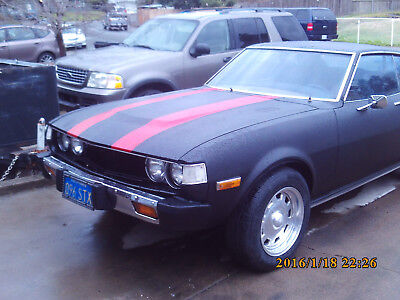 1977 Toyota Celica GT  SPORT COUPE CLASSIC COLLECTABLE RESTORE ORIGINAL 1977 Toyota Celica Sport Coupe UTUBE videos