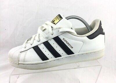 67997c2dcf18 GS YOUTH ADIDAS SUPERSTAR SHOE size 7 PRE OWNED GREAT CONDITION ...