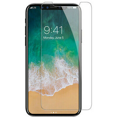 Premium Tempered Glass Screen Protector for iPhone 6 7 8 X XS XR XS MAX PLUS
