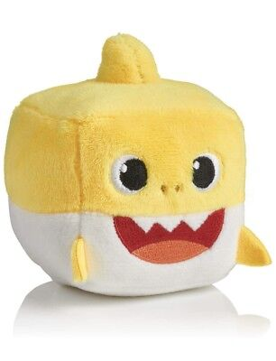 Pinkfong Yellow Baby Shark Singing Cube Plush in English - BRAND NEW ITEM!! 🦈🔥
