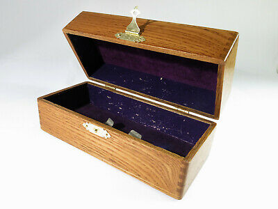 Rare Restored Antique Treadle Sewing Machine Accessories Box