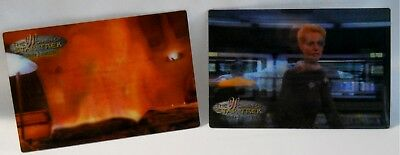 WOMEN OF STAR TREK IN MOTION 1999 32 Card Lenticular Set + Subsets and Promos
