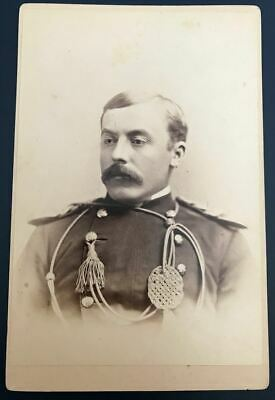 Cabinet Card of 7th US Cavalry Officer