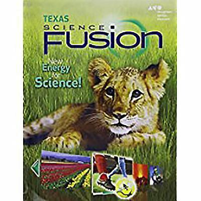 SCIENCE FUSION WORKBOOK Lot Of 2 Volumes 1 2 All In New
