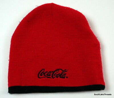 96787b6a6 BEANIE WINTER HAT Cap Licensed Coca Cola Coke Grey Black CC - $16.95 ...