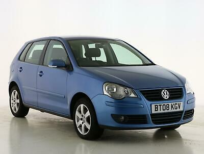 2008 Volkswagen Polo 1.4 Match 80 5dr Auto Petrol blue Automatic