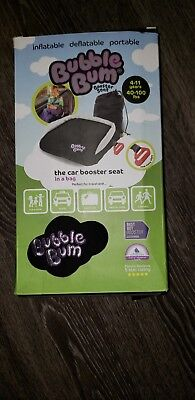 53c733107ae67 BUBBLEBUM BACKLESS INFLATABLE Booster Car Seat