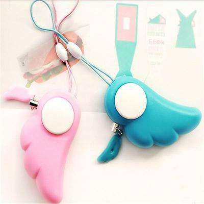 Women Safety Alarm Anti-Attack Rape Security Self Defense Keychain Panic Loud.