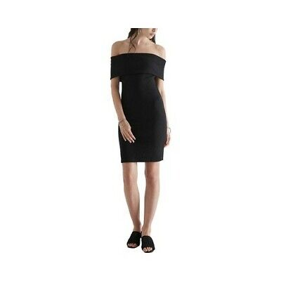 a3fbbd4037b SIR the Label Women s Franca Bodycon Off-the-Shoulder Dress Black Size 1 (