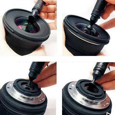 For Canon Nikon Sony DSLR Camera VCR 3 in 1 Lens Cleaning Brush Pen Dust Cleaner
