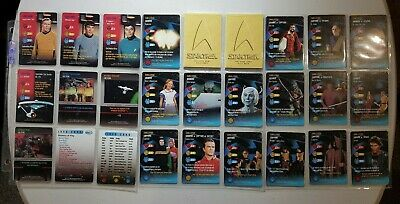 Star Trek Tos Collectable Card Game, 316 Cards + 276 Doubles
