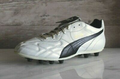 Puma King Top DI FG White Black Soccer Cleats EU-47 Football Boots Size US 8c67bd605