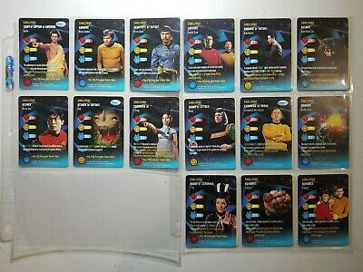 Star Trek Tos Collectable Card Game,starfleet Maneuvers 141 Cards + 92 Doubles