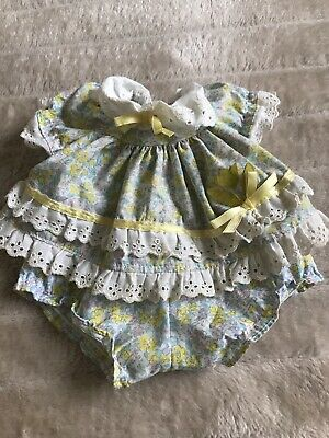 My Child Doll Original Floral Flare Dress Outfit