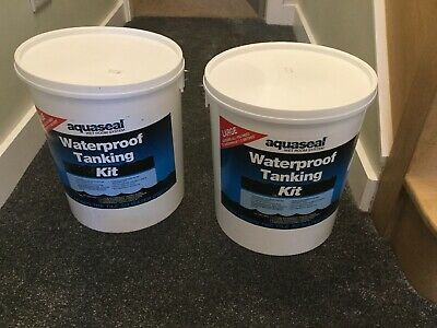 Everbuild Aquaseal Tanking Kit Large Wet/shower/bath Room Waterproof