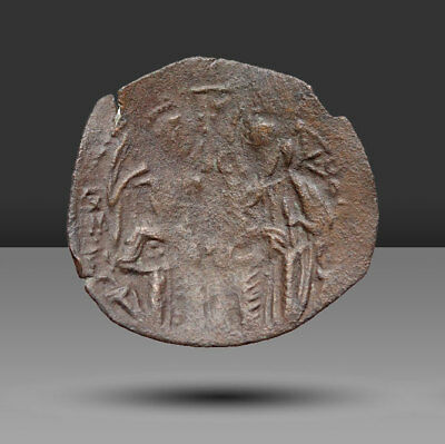 Michael VIII Palaeologus.1261-1282. æ Trachy. Constantinople mint. Struck 1261/2