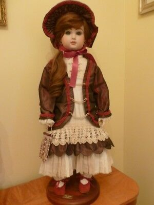 Handmade reproduction French Jumeau doll