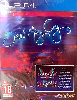 Devil May Cry 5 Deluxe Steelbook Edition (PS4) (NEU OVP) (UNCUT) (Blitzversand)
