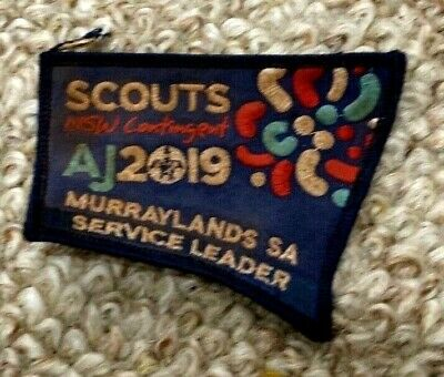 AJ2019 NSW Contingent Badge Murraylands SA Service leader