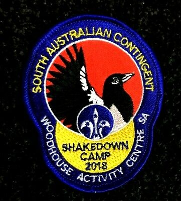 AJ2019 Shakedown Camp Badge 2018 Contingent Woodhouse activity centre