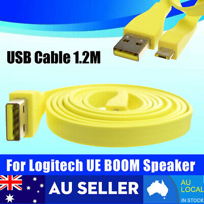 1.2M Micro USB PC Charger Data Cable For Logitech UE BOOM MEGA