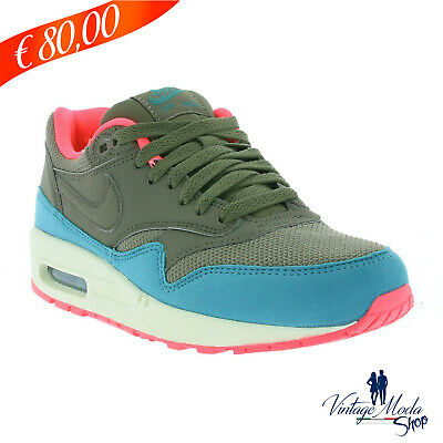 Nike Calzature Air Max 1 Essential Woman Shoes 537383 202 Scarpa Casual  Sneakers ffebe6b9594