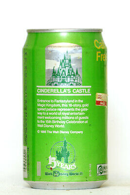 1987 Diet Sprite can from the USA, Cinderella's Castle