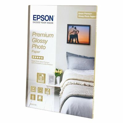 Epson A4 Premium Glossy Photo Paper 255Gsm - 15 Sheets - C13S042155