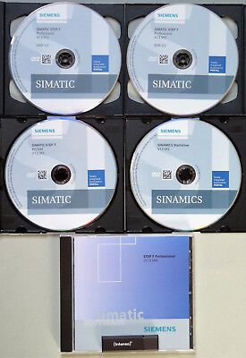 Siemens Simatic Software STEP7 Professional V13 SP2 + S7 Prof. 2010 SR4 COMBO
