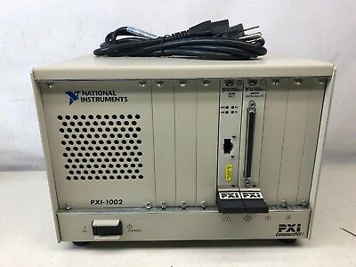 National Instruments PXI-1002 Chassis with NI PXI-6031E / NI PXI-8330 MXI-3