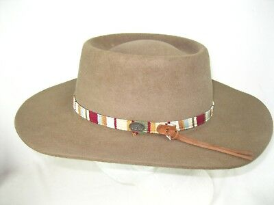 35-K COWBOY HAT ~ Western FINE Weave PALM LEAF Straw - 30X - Leather ... 9025f2f0c083