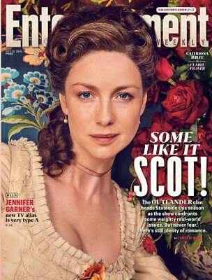 Outlander Caitriona Balfe (Clare Fraser) Us Entertainment Weekly October 2018