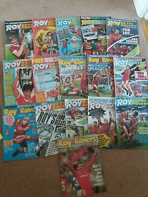 Lot 2 Roy Of The Rovers 1980S Comics  16 In Total