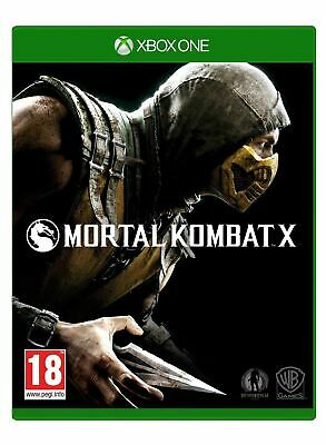 Mortal Kombat X Xbox One Brand New Sealed Official Game PEGI 18