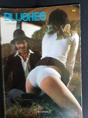BLUSHES - A COLLECTORS EDITION ISSUE 12 vintage spanking magazine