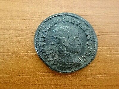 Roman Empire - Diocletian 284-305 AD AE Antoninianus Ancient Roman Coin