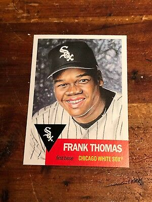 2018 Topps Living #133 Frank Thomas Baseball Card - Nrmt + Hof Chicago White Sox
