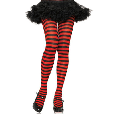 d34baf1d4211d Leg Avenue Nylon/Polyester Striped Tights Plus Size - 2 Color Combinations