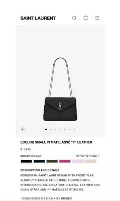 d746a217a804 SAINT LAURENT BLACK And Silver Leather Mini Crossbody Bag -  350.00 ...