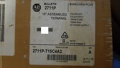 New Sealed 2711P-T15C4A2  ALLEN BRADLEY PANELVIEW PLUS 1500