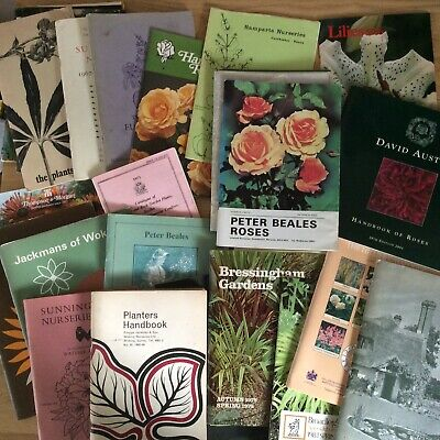 Job Lot of 32 Plant and Seed Catalogues