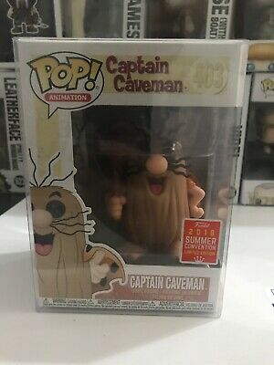 Funko Pop Captain Caveman Animation 2018 Summer Convention Limited Edition
