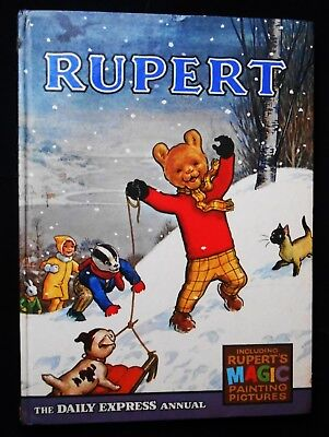 1967 Rupert Bear Annual Magic Paintings Not Done, Unscribed/price Unclipped 6/-