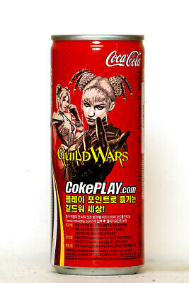 2005 Coca Cola can from Korea, GuildWars (250ml)