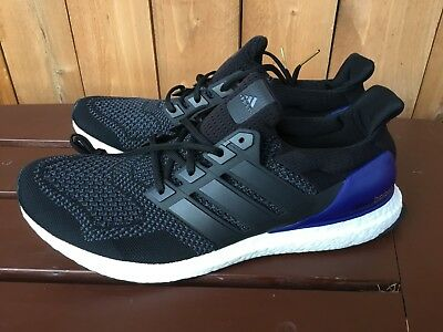 premium selection c9bc7 5d7d7 ADIDAS ULTRA BOOST OG 1.0 black blue men's shoes sneakers G28319 multiple  sizes