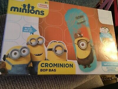 NEW Despicable Me Minions Crominion Inflatable 3D Bop Bag Toy