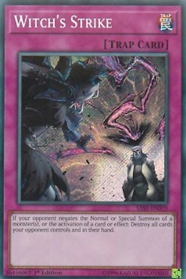 YuGiOh! 1x Witch's Strike SAST-EN079 Secret Rare 1st Edition NEW